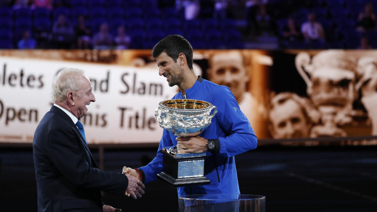 With 7 Australian Opens, 1 French Open, 4 Wimbledons and 3 US Opens, Djokovic has 15 Grand Slam titles. He's now within two of Nadal's career haul and five of Federer's — the 31-year-old seemingly with plenty of time on his side to reel them in. (Image: Reuters)