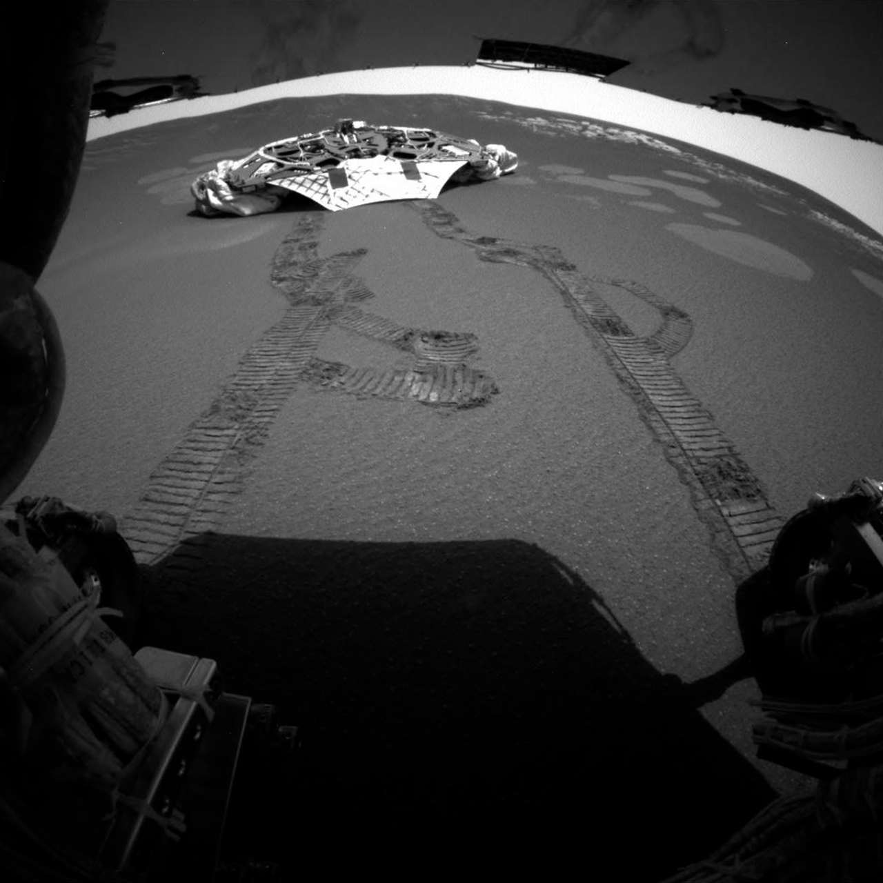 Opportunity now lies dormant in the Perseverance Valley. It is survived by NASA's Curiosity rover, which is now the only active robot on Mars. (Image: AP)