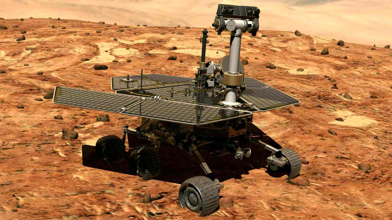 NASA on February 13 announced that its Opportunity Rover mission is complete after the rover failed to respond despite repeated trials since August 2018. (Image: AP)