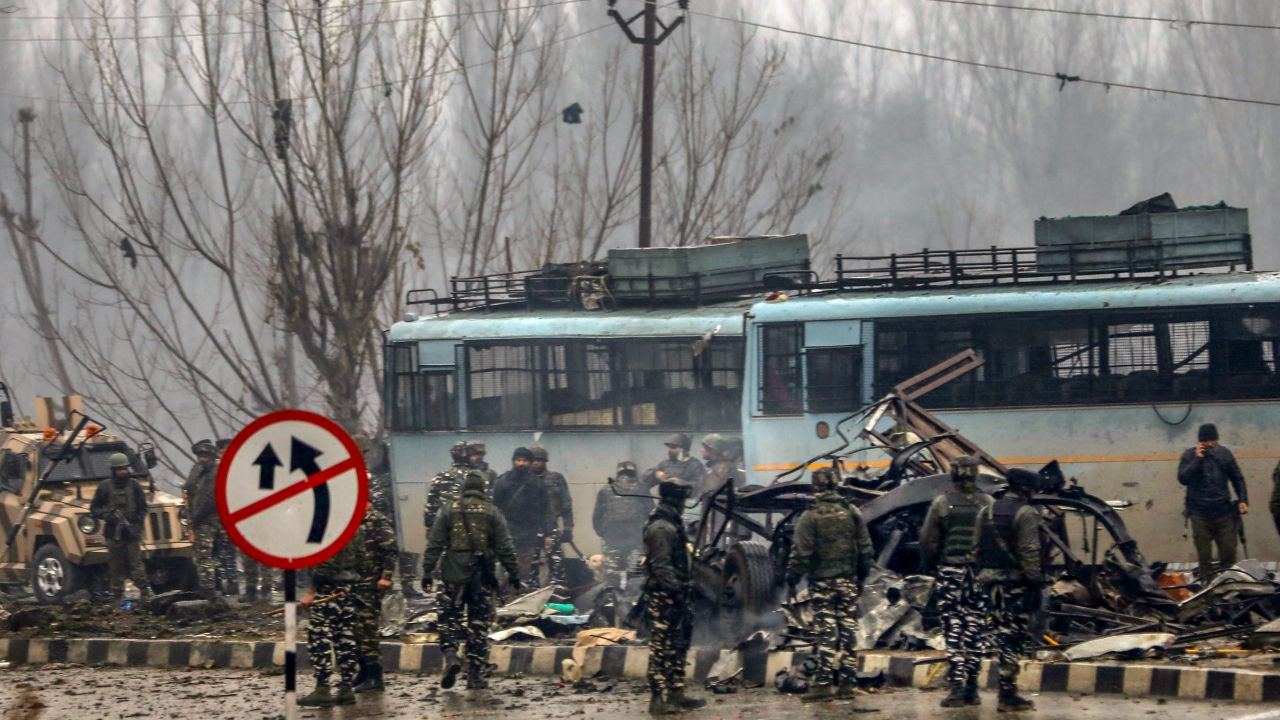 Pulwama: The terrorist attack, which martyred 40 CRPF personnel in Pulwama, shocked the nation and brought India on a brink of war with Pakistan after the country's forces responded by conducting the Balakot airstrikes. (Image: PTI)