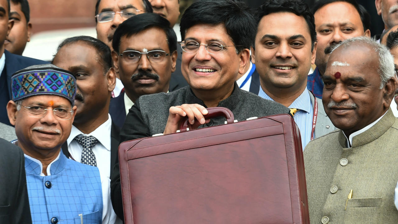 Tax changes: Interim Finance Minister Piyush Goyal on February 1 announced tax sops for the middle class. One of the biggest announcement was the doubling of income tax exemption limit to Rs 5 lakh. (Image: PTI)