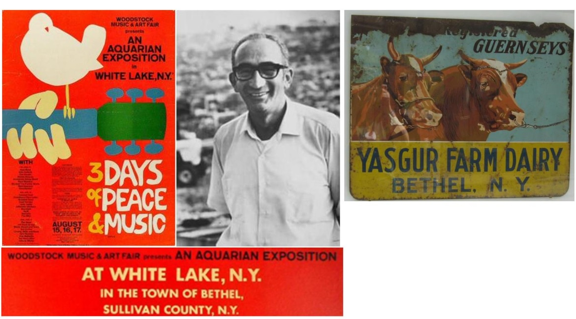 Answer: Max Yasgur's farm in Bethel, New York, was the venue for Woodstock in 1969.
