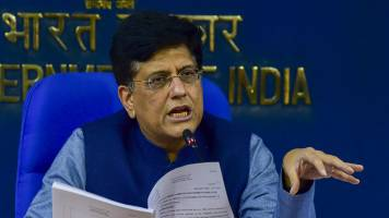 Commerce and industry minister Piyush Goyal meets industry stakeholders on e-commerce and data localisation