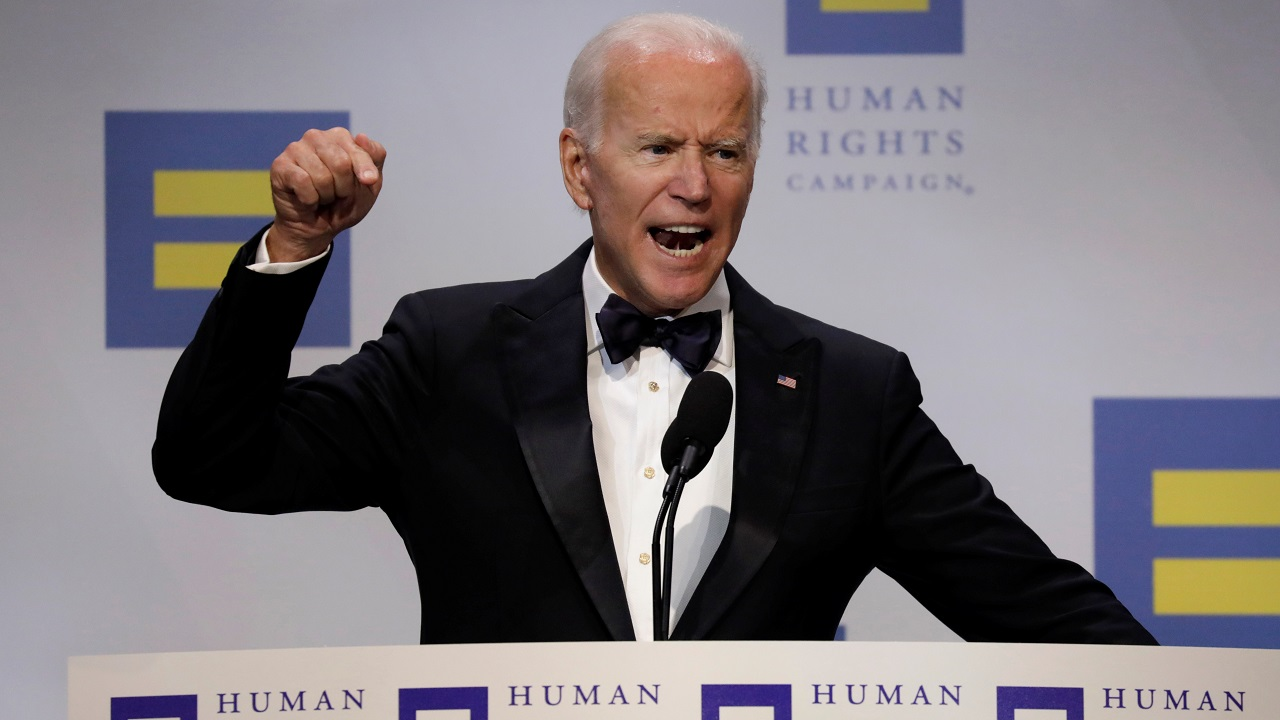 Handling conflicts like a mature person | Crazy Joe Biden is trying to act like a tough guy. Actually, he is weak, both mentally and physically, and yet he threatens me, for the second time, with physical assault. He doesn't know me, but he would go down fast and hard, crying all the way. Don't threaten people Joe!