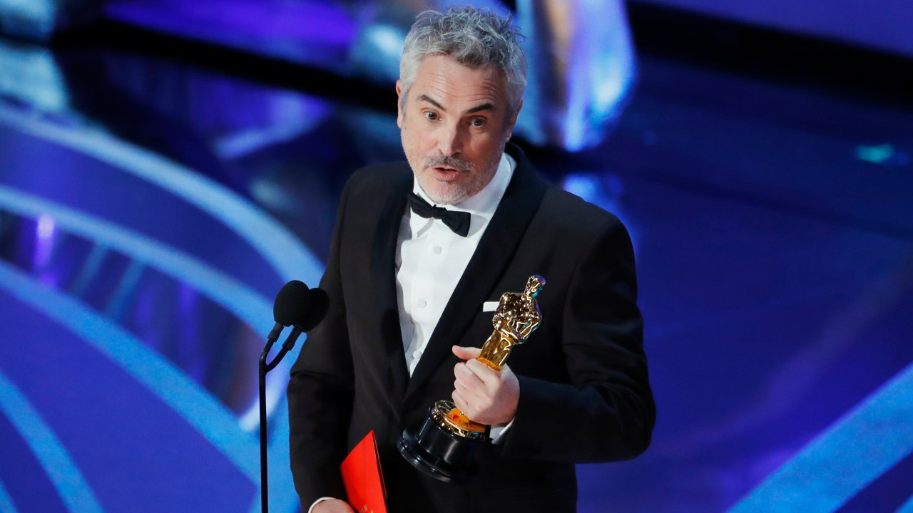 """Best Foreign Language Film: Alfonso Cuaron, """"Roma"""" (Image: Reuters)"""
