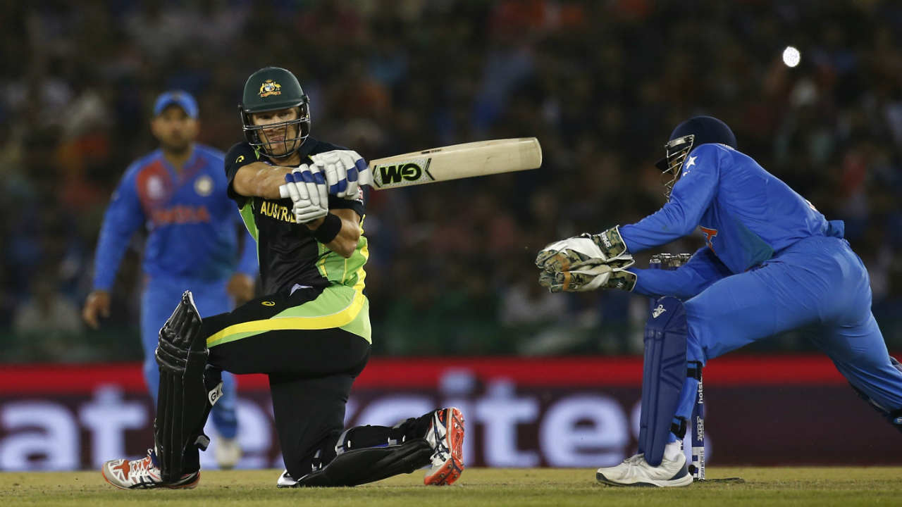 Only century in India vs Australia T20I matches | For all the exploits that India and Australia T20 matches have witnessed over the years, strangely there has been only one century. That century came from the bat of former Australian all-rounder Shane Watson. The all-rounder played an emphatic inning of 124* in a T20I match played at Sydney Cricket Cricket Ground on January 31, 2106. Unfortunately, his efforts went in vain as India won that match by 7 wickets. (Image: Reuters)