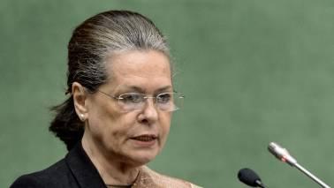 No 'preraks', only coordinators for Congress: Sonia Gandhi