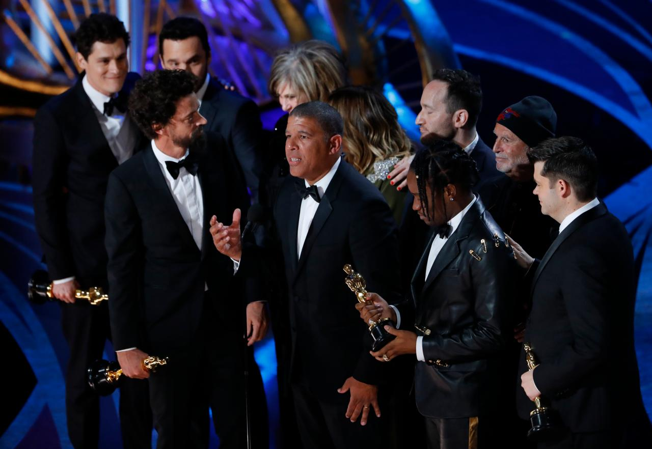 """Best Animated Feature: """"Spider-Man: Into the Spider-Verse"""" (Image: Reuters)"""