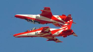 2 Surya Kiran jets crash in Bengaluru