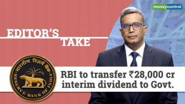 RBI to transfer Rs 28,000 cr interim dividend