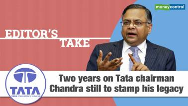 N Chandrasekaran's 2 years at Tata