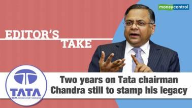 N Chandrasekaran's 2 years at Tata