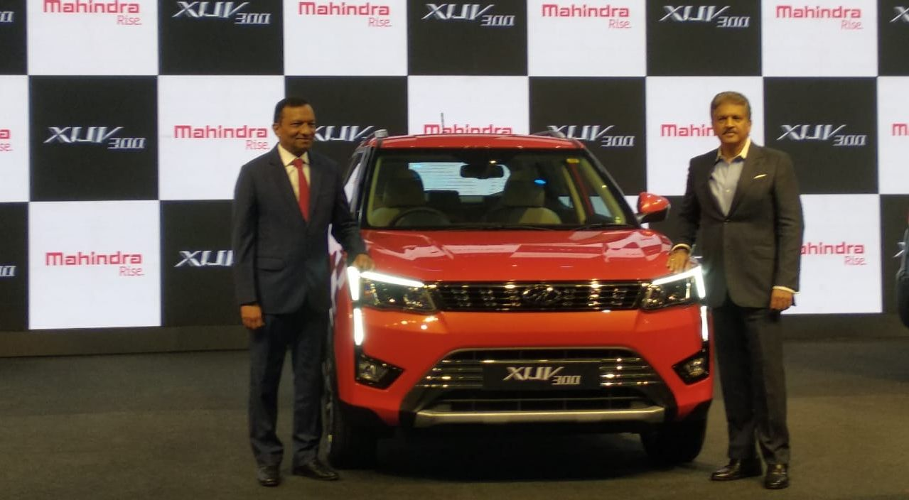 Mahindra & Mahindra has launched its compact SUV, XUV300, starting at Rs 7.90 lakh (ex-showroom). The automaker claimed that the car is equipped with first-in-class features and best-in-class safety. (Image: Swaraj Baggonkar)