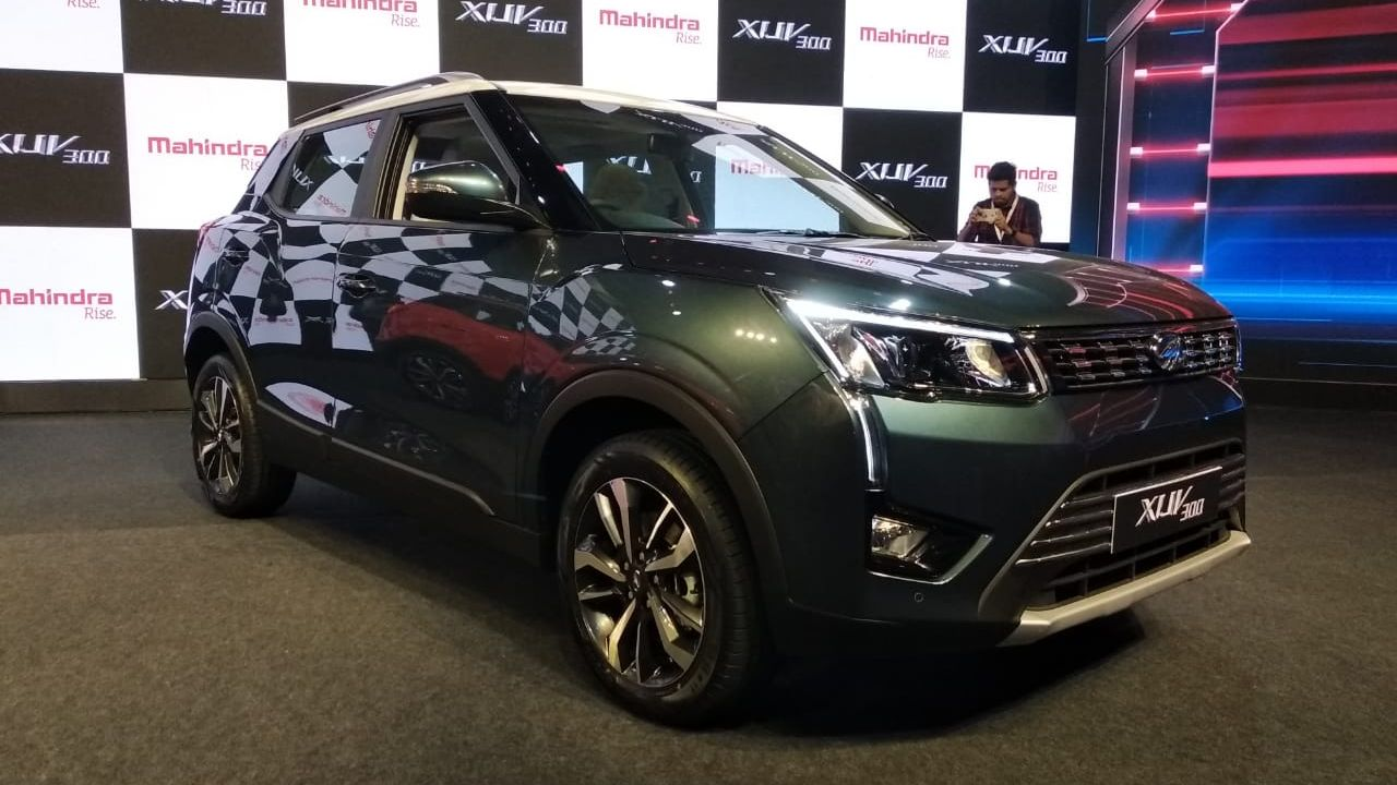 Pawan Goenka, the Managing Director of M&M, also revealed that the electric variant of the car is in the works and codenamed, S210, which is expected to be unveiled in the second half of 2020. (Image: Swaraj Baggonkar)