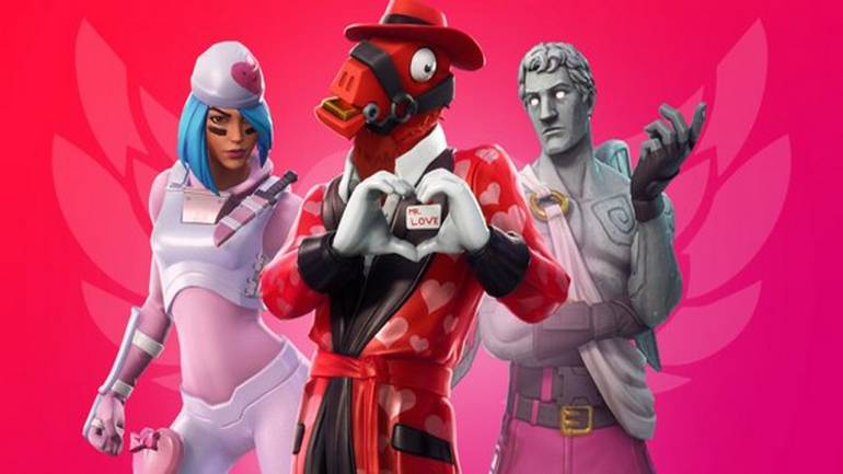 Fortnite Announces Valentine S Day Event Update 7 40 Brings New