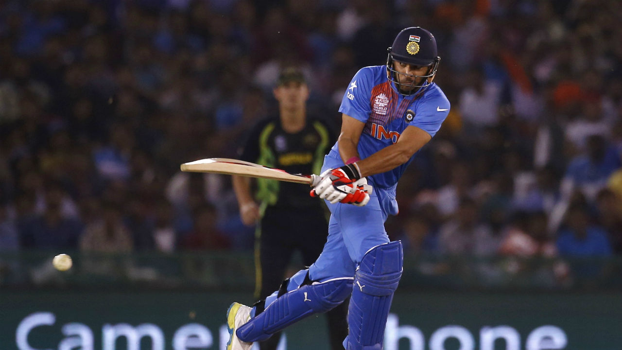 Highest Team Total | India's 202/4 in T20I match at Rajkot played on October 10, 2013 is the highest team total between the two teams. Batting first Australia scored 201 thanks to a brilliant inning of 89 off 52 balls by Aaron Finch. India chased the target down as Yuvraj Singh smashed ball all around the park and scored 77 off just 35 balls. India won the match with two balls to spare. (Image: Reuters)