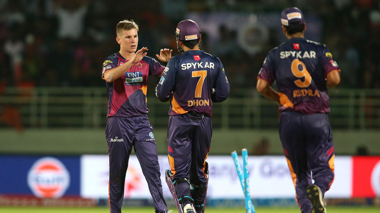 2. Adam Zampa | Rising Pune Supergiant | BBM: 6/19 | The Australian leg-spinner picked up 6 wickets in 3 overs as he ran through the Sunrisers' middle order to restrict them to just 133 in 2016. He dismissed Yuvraj Singh in the 16th over before getting rid of Kane Williamson and Moses Henriques off consecutive deliveries in his next over. Zampa then bowled the final over where he sent back Deepak Hooda, Naman Ojha and Bhuvneshwar Kumar to end with figures of 4-0-19-6. Unfortunately, his heroics went in vain as RPS ended up losing by a close 4-run margin. (Image: BCCI, iplt20.com)