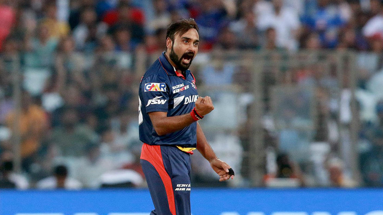 10. Amit Mishra | Delhi Daredevils | BBM: 5/17 | The IPL's second highest wicket-taker of all-time helped Delhi end a four-match winless streak in 2008 with his best-ever figures of 4-0-17-5. With Deccan Chargers needing just 15 runs off the final over, Mishra picked up a hat-trick off the first 3 balls to help Delhi secure a 12-run victory. He had earlier scalped Shahid Afridi and Hershell Gibbs before dismissing Ravi Teja, Pragyan Ojha and RP Singh in the final over. (Image: BCCI, iplt20.com)
