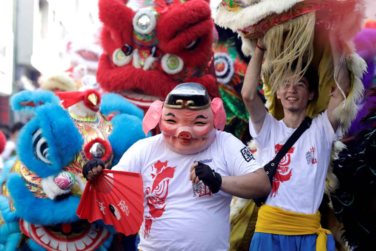 It is now celebrated worldwide in countries with significant Chinese populations such as Indonesia, Singapore, Myanmar, Malaysia, Cambodia, the Philippines, and Mauritius as well as many in North America and Europe. (Image: Reuters)