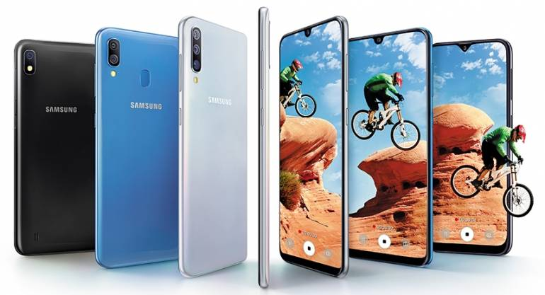 ff428b21f The Galaxy A series is Samsung s bet to compete with Chinese brands like  Oppo and Vivo in the mid-budget smartphone category. All three phones run  on the ...