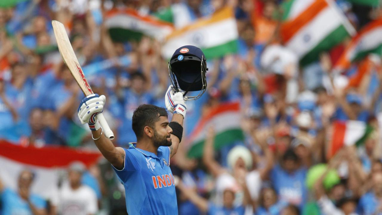 2015, Group Stage, Australia | Virat Kohli who took over the baton from the Little Master scored a masterful century as India posted 300/7 which proved a tad too much for Pakistan to chase. India pulled off a disciplined display with the ball as they bowled out Pakistan for just 224 to register a 76-run victory. Virat Kohli was the Man of the Match while Mohammed Shami was India's best bowler as he finished with 4/35 from 9 overs. (Image: Reuters)