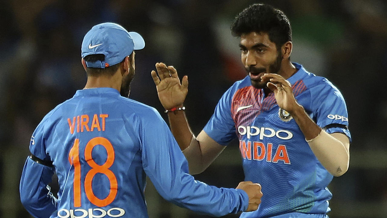 Jasprit Bumrah (India)   Bumrah underlined his credentials as one of the best death-overs bowler in the business with a stellar 19th over in the 1st T20I. With 16 required off the last 2 overs, Bumrah took 2 wickets while giving away just 2 runs leaving Umesh Yadav with 14 to defend. He bowled 18 dot balls in his spell of 3/16 in that match but went wicket-less in the second game as Maxwell dominated proceedings. Stats   Matches: 2   Overs: 8   Wickets: 2   Best Bowling: 3/16   Average: 15.33   Economy rate: 5.75 (Image: AP)