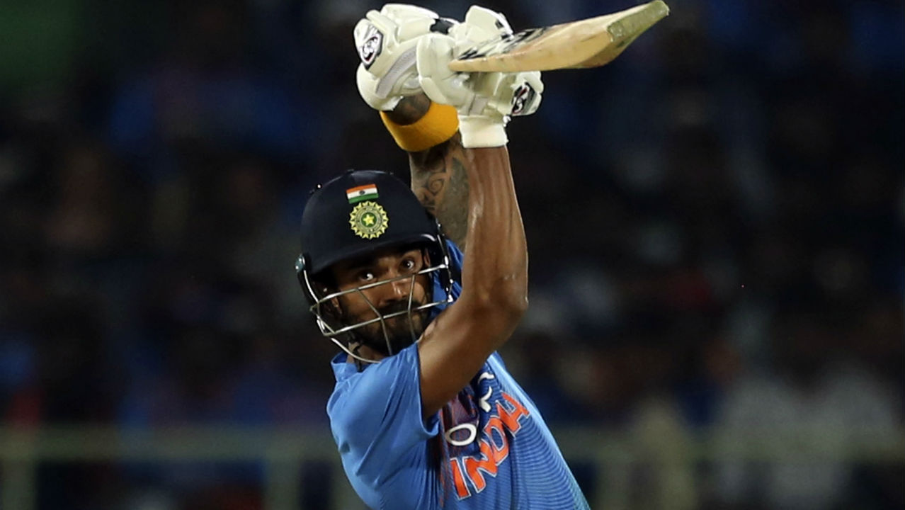 Virat Kohli then joined KL Rahul in the centre and together the duo added 55 runs off just 37 balls to steady the Indian innings. Both batsmen were aggressive in their stroke-play and kept finding the boundaries with ease. (Image: AP)