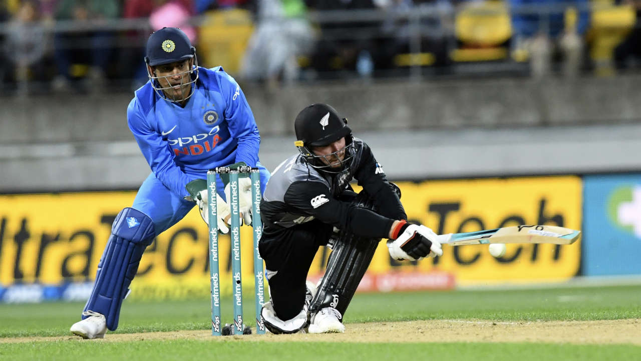 Seifert was in blistering form as stitched a 48-run partnership off just 26 balls with Kane Williamson for the 2nd wicket. Seifert was finally dismissed by Khaleel Ahmed who castled him with a brilliant yorker in the 13th over. The batsman returned having scored 84 off 43 balls with New Zealand comfortably positioned at 134/2. (Image: AP)
