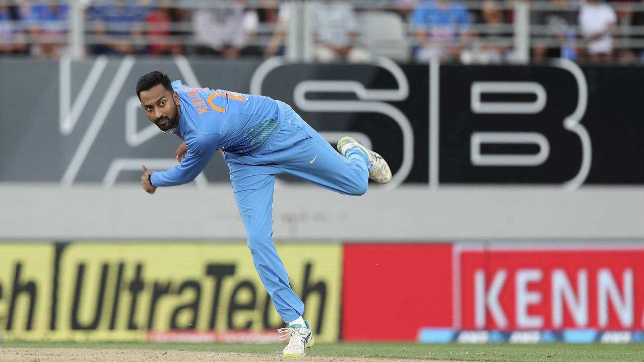 Krunal Pandya (India) | India's Man of the Match in the second tie, Krunal finished with 3/28 in that game as he helped India secure their only win of the series.  He got the important wickets of Munro, Williamson and Grandhomme in that game. Krunal however had a disappointing outing with the ball in the final match as he leaked 54 runs without picking any wickets. He did however make up for it with the bat as he scored 26 off 13 balls.  Stats | Matches: 3 | Overs: 12 | Wickets: 4 | Best Bowling: 3/28 | Average: 29.75 | Economy rate: 9.91 (Image: AP)