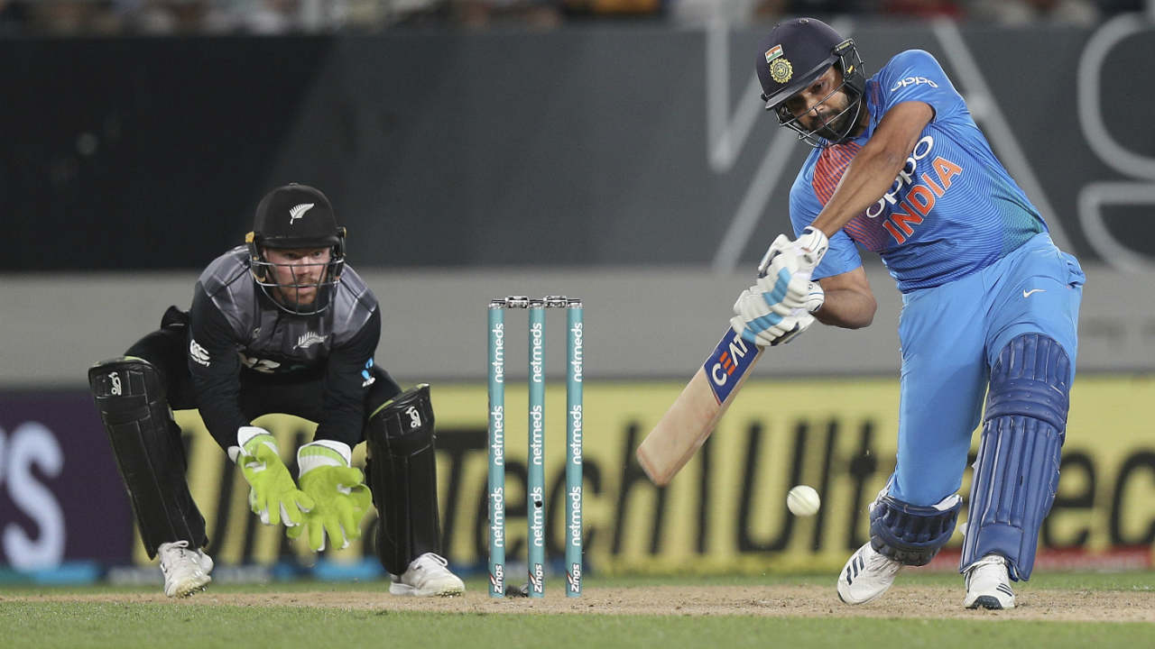 Rohit Sharma (India) | The Indian skipper didn't enjoy a great tournament by his standards as he finished with just one fifty from 3 matches. However, his contribution with the bat was still the highest among his teammates and third-best among players from both teams. His 50 off 29 balls in the second match helped India chase down the Kiwi total with ease. Stats | Matches: 3 | Runs: 89 | HS: 50| Average: 29.66 | Strike Rate: 134.84 | 100s: 0 | 50s: 1 | 4s: 6 | 6s: 4 (Image: AP)