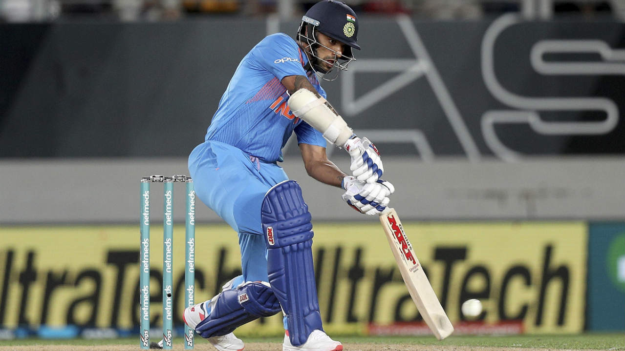 Shikhar Dhawan was next to depart when Lockie Ferguson bounced him out in the 11th over with Grandhomme taking an easy catch at backward point. Vijar Shankar then joined Rishabh Pant in the middle and scored 14 off 8 balls before he was dismissed by a bouncer from Daryl Mitchell in the 14th over. India were placed at 118/3 at the fall of Shankar's wicket. (Image: AP)