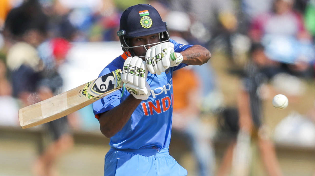 Hardik Pandya looked aggressive right from the word go. The Indian all-rounder smashed three sixes off successive deliveries in a Todd Astle over to up the scoring rate in the death overs. Pandya played a brilliant cameo scoring 45 off 22 deliveries and was out trying to heave Neesham for a big shot with Boult taking a brilliant catch while running back. India were 248/8 when Pandya got dismissed in the penultimate over. Bhuvneshwar Kumar and Mohammed Shami got out in the final over as Indian were bowled out on 252. (Image: AP)