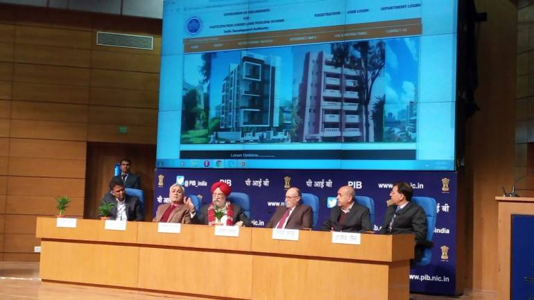 Owners can now register land parcels on DDA land pooling policy website