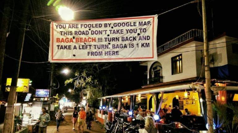 What's the route to Baga beach? Google retorts to Twitter trolls on  'faulty' map directions to Goa beach