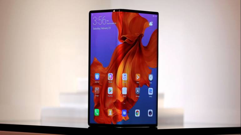 Image result for Huawei Mate X 5G Foldable Smartphone Confirmed to Launch in India Later This Year