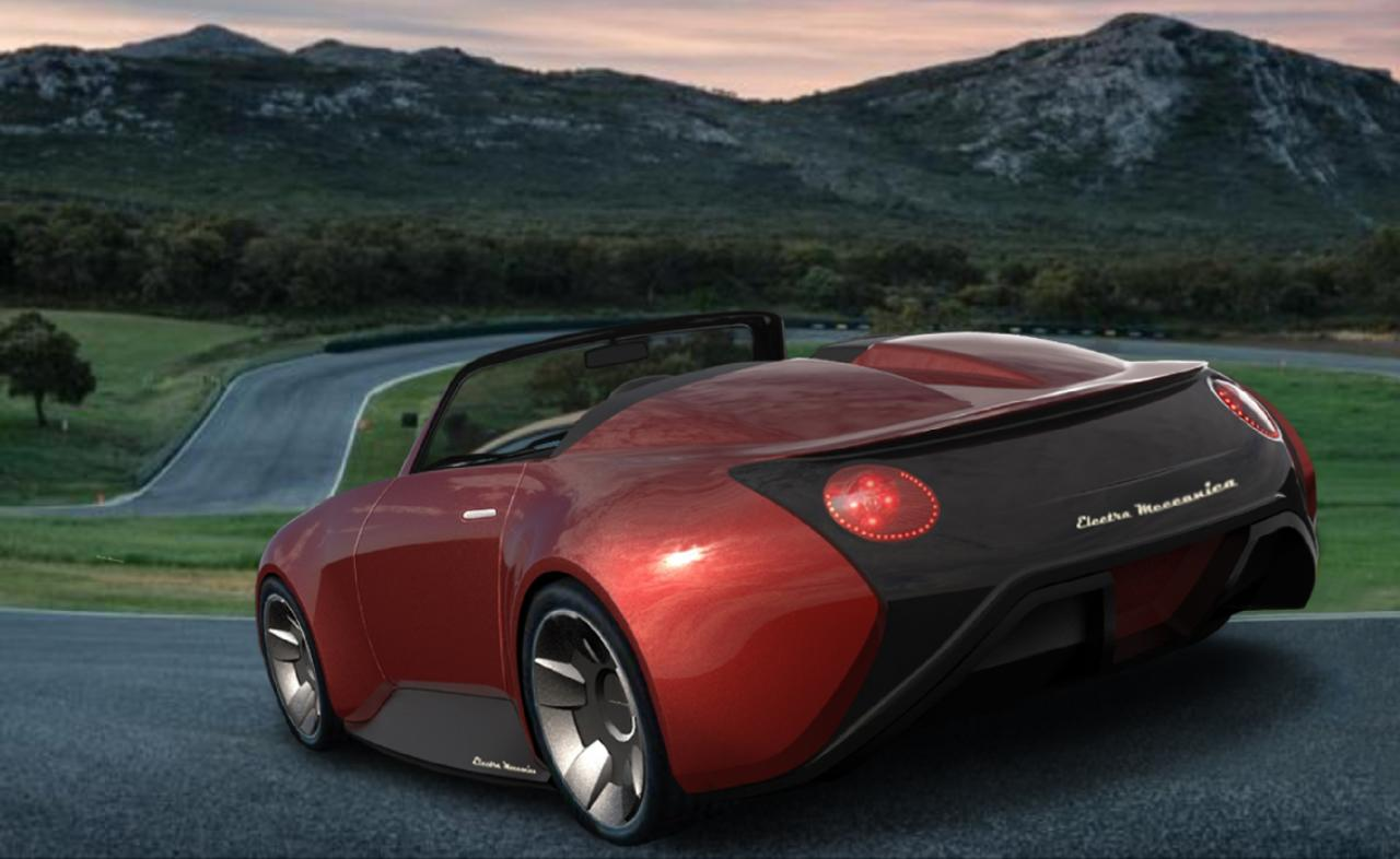 Tofino, on the other hand, is a more modern boxer like sports car named after a small district on Vancouver Island. (Image: Electra Meccanica)