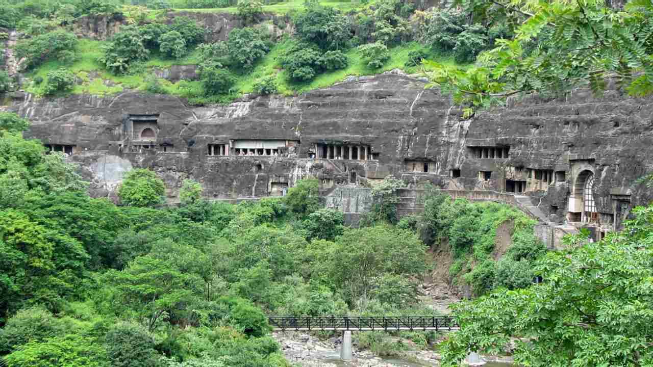 Ajanta Caves | Aurangabad, Maharashtra (Image: Flickr/Danial Chitnis)