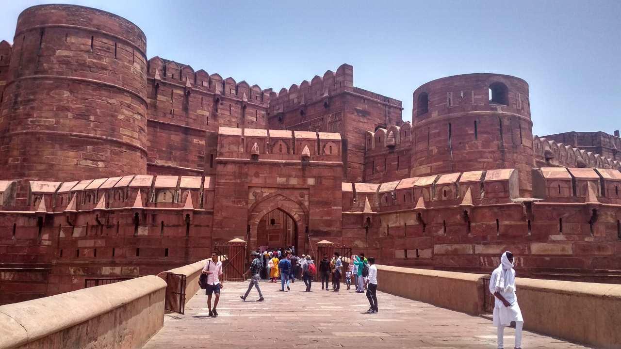 Agra Fort | Agra, Uttar Pradesh (Image: Pexels/Umesh Baghel)