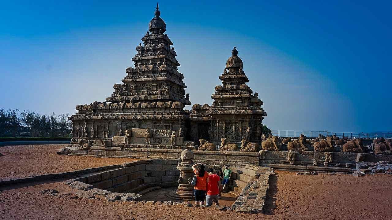 Monuments in Mamallapuram | Kancheepuram, Tamil Nadu (Image: Wikimedia Commons)