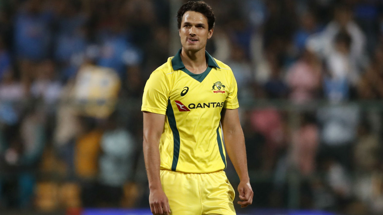 Nathan Coulter-Nile (Australia) | Fast bowler Coulter-Nile returned with match-winning figures of 3/26 in the first T20I as he helped restrict India to a below-par total of just 126. He proved to be a thorn in the side of KL Rahul, dismissing the Indian opener in both matches. Coulter-Nile wasn't too effective in the 2nd match though as Kohli smashed him for a hat-trick of sixes in the 16th over. Stats | Matches: 2 | Overs: 7 | Wickets: 4 | Best Bowling: 3/26 | Average: 14.75 | Economy rate: 8.42 (Image: AP)