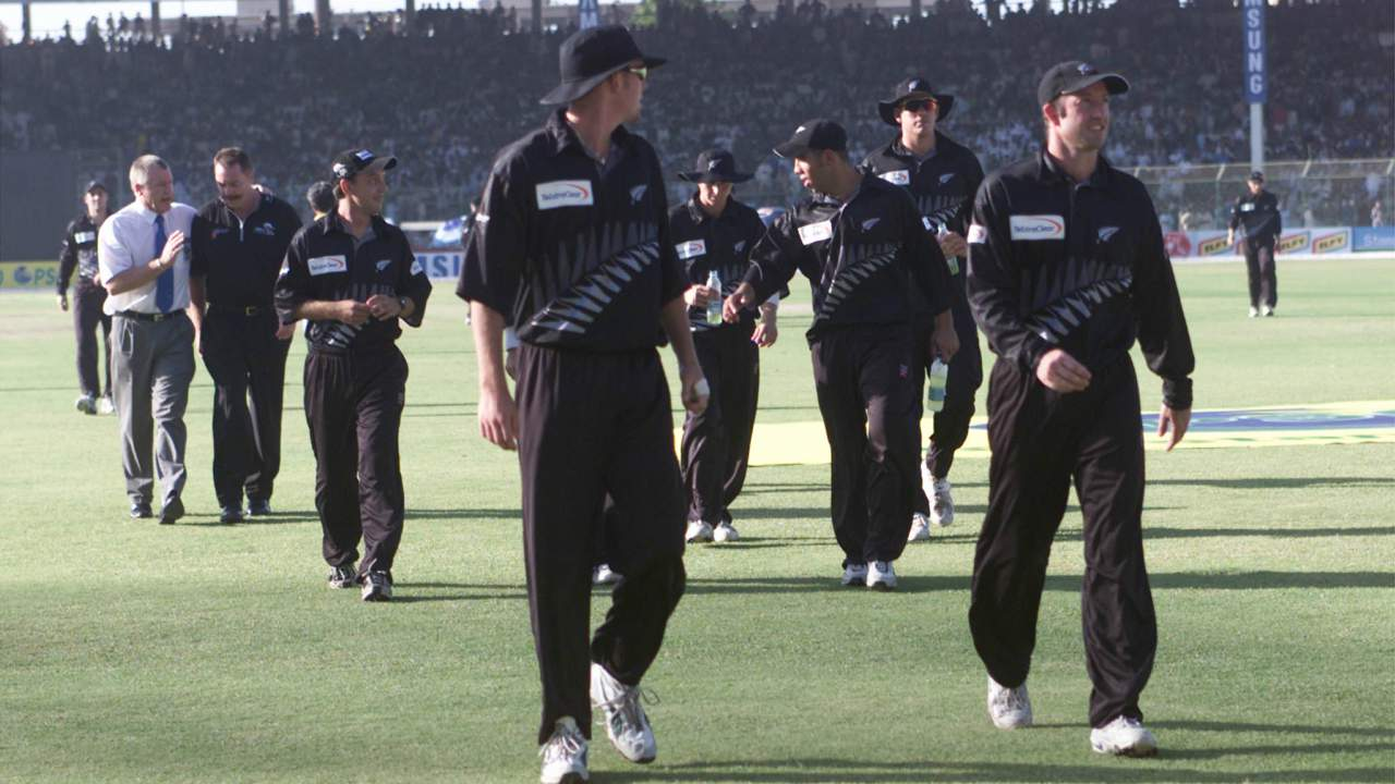 New Zealand vs Pakistan (2002) | Black Caps' tour was abandoned in 2002 following a suicide bomb attack outside the hotel where both teams were staying. None of the players were injured in the attack, which was targeted at French naval technicians working on a submarine project in Karachi. (Image: Reuters)