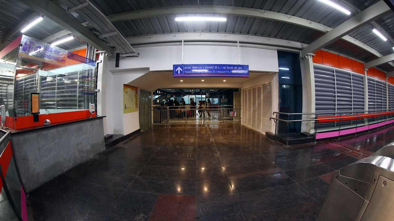 Hitherto the Airport Line was only connected with Blue Line at Dwarka Sector 21 and New Delhi Railway Station.