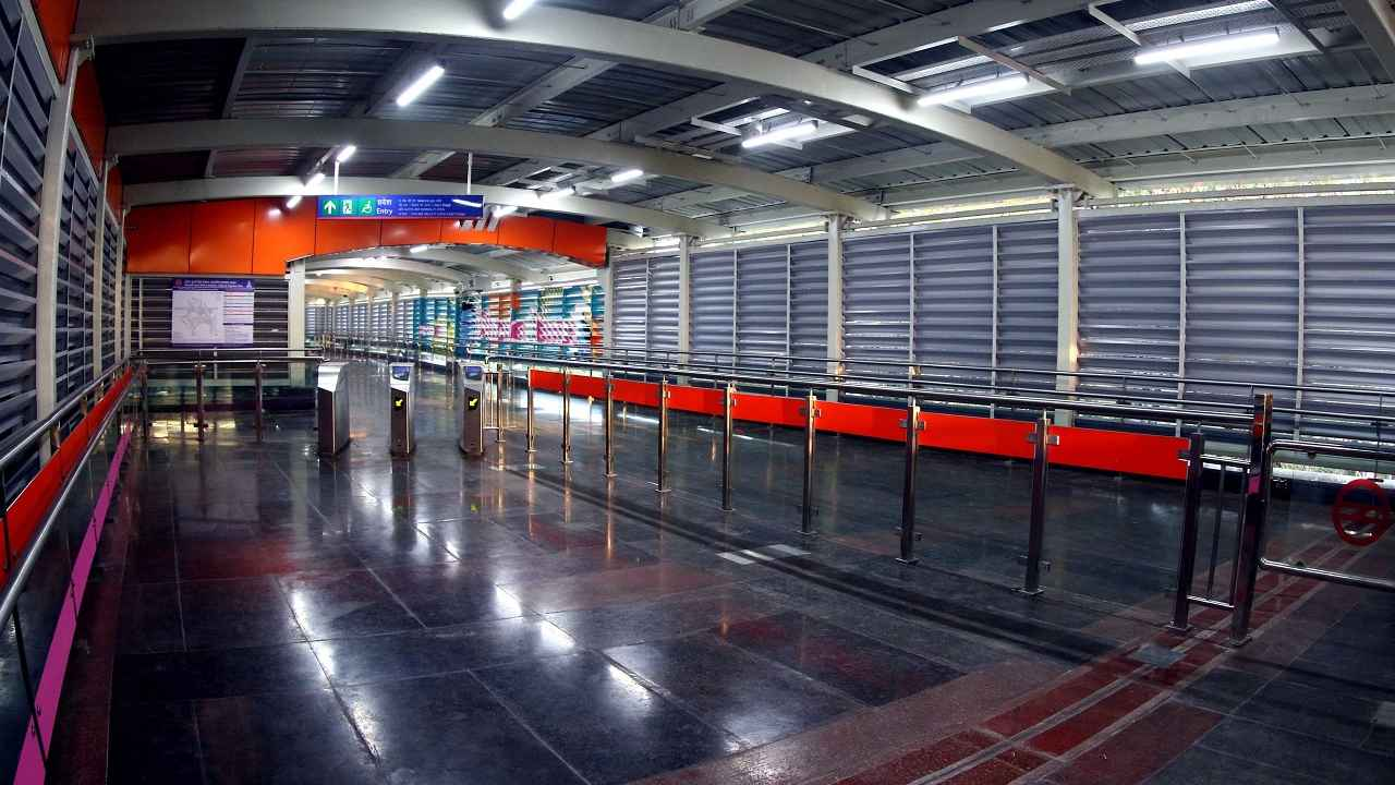 Delhi Metro provides interchange facilities between two or more corridors at 25 different locations across the network.