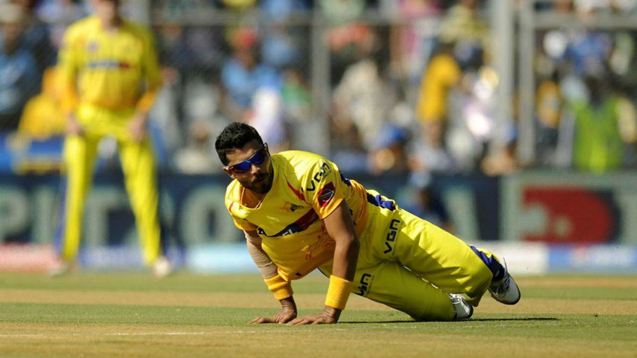 8. Ravindra Jadeja | Chennai Super Kings | BBM: 5/16 | Jadeja put in an all-around performance against the Deccan Chargers in 2013 to help CSK record a 74-run win. He first added a quick-fire 29-ball 48 with the bat before accounting for Parthiv Patel, Bharat Chipli, Manpreet Gony, Ravi Teja and Dale Steyn to record figures of 4-0-16-5. Man of the Match Jadeja finished the game as both the highest scorer and highest wicket-taker. (Image: BCCI, iplt20.com)