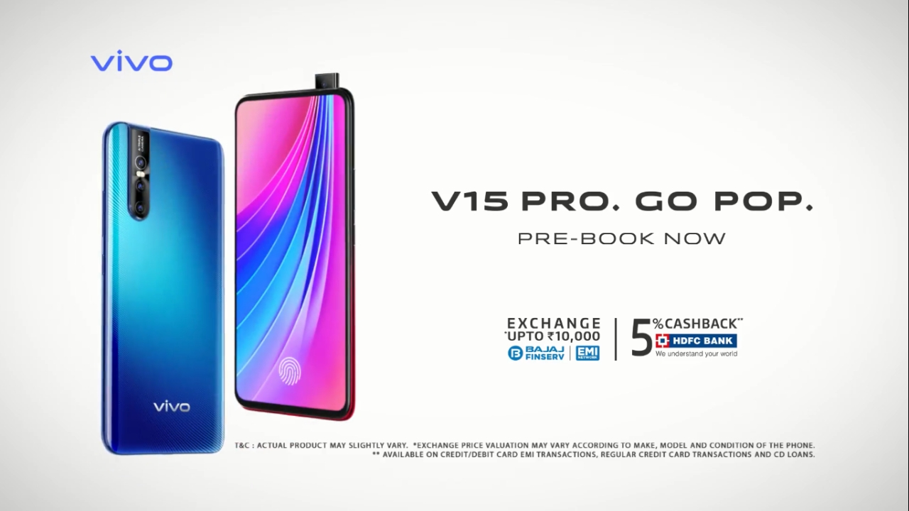 Best Mid-range Smartphone | Vivo V15 Pro | The Vivo V15 Pro is an excellent mid-tier handset. The V15 Pro is one of the first mid-range smartphones to feature a pop-up selfie camera with a truly notch-free display. While the V15 Pro might not deliver on the power side with a sub-par processor, camera performance tends to stand out. Read our full V15 Pro review here.