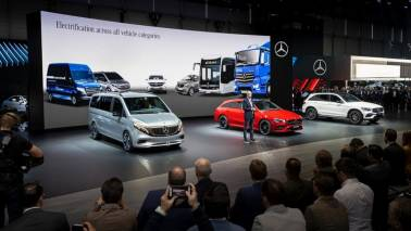 Mercedes-Benz offerings at the Geneva Motor Show 2019