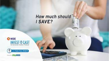 NSE Invest O Cast episode 14: What is the right amount of savings?
