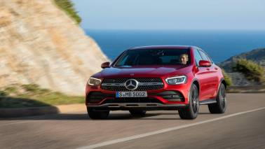 What has changed in Mercedes Benz GLC Coupe Facelift?