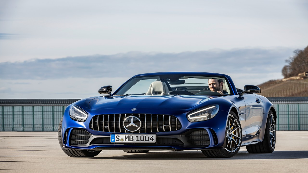 The Mercedes-AMG GT R Roadster is the latest entry in Mercedes' stable of convertible supercars.