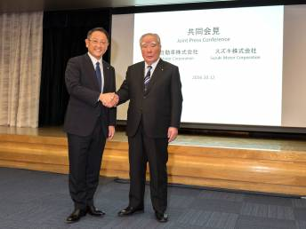 Toyota and Suzuki deepen partnership over more models, joint technology development and engine sharing